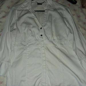 3/4 Length Sleeve Button Up~ Fred David
